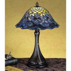 Kichler Kitchen Lighting Prices Meyda 28568 Tiffany Peacock Feather Accent Lamp
