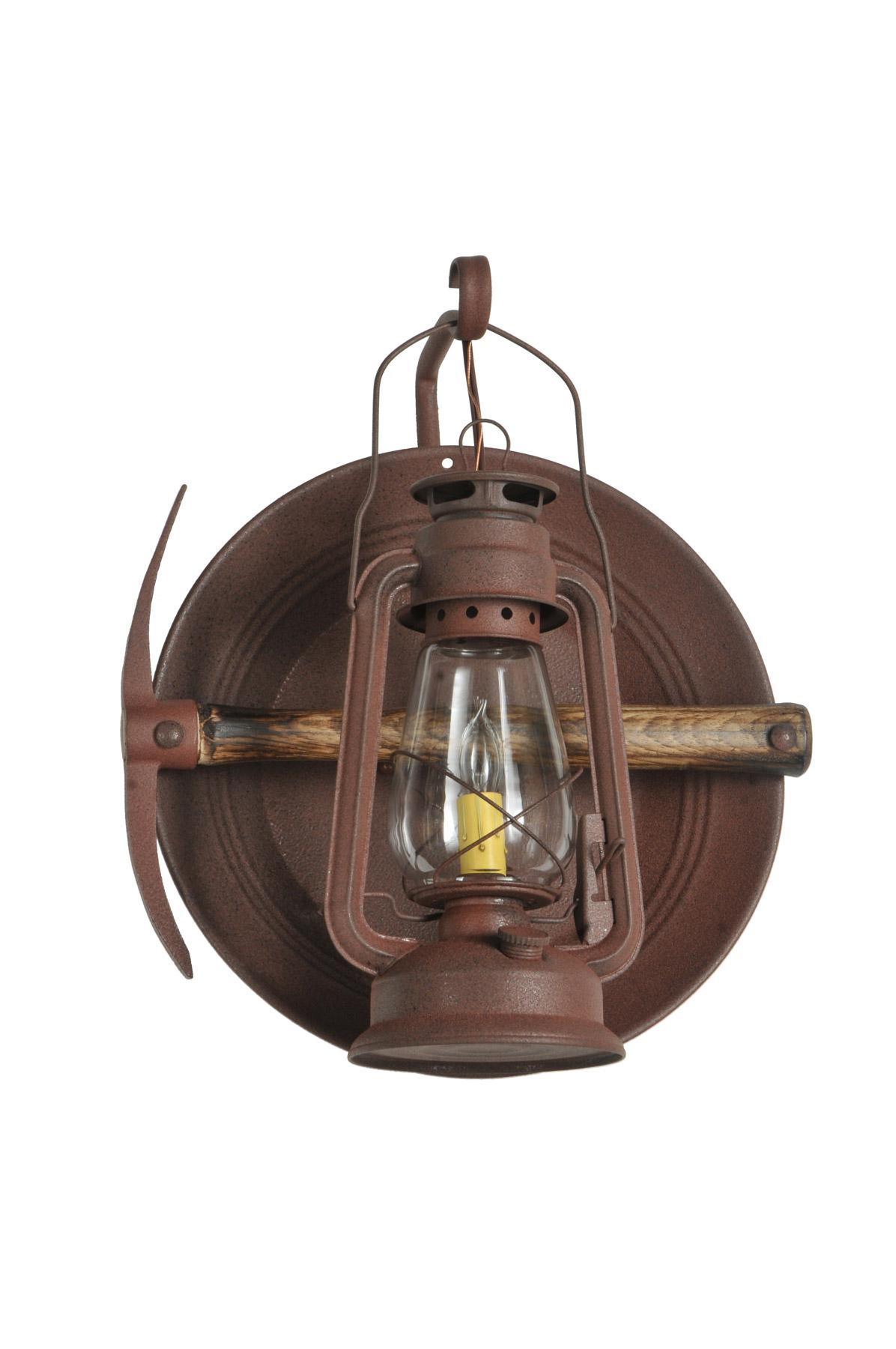 Meyda 114829 Miners Lantern Wall Sconce