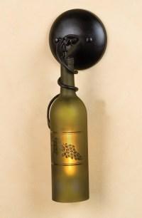 Meyda 49462 Tuscan Vineyard Etched Grapes Wine Bottle ...