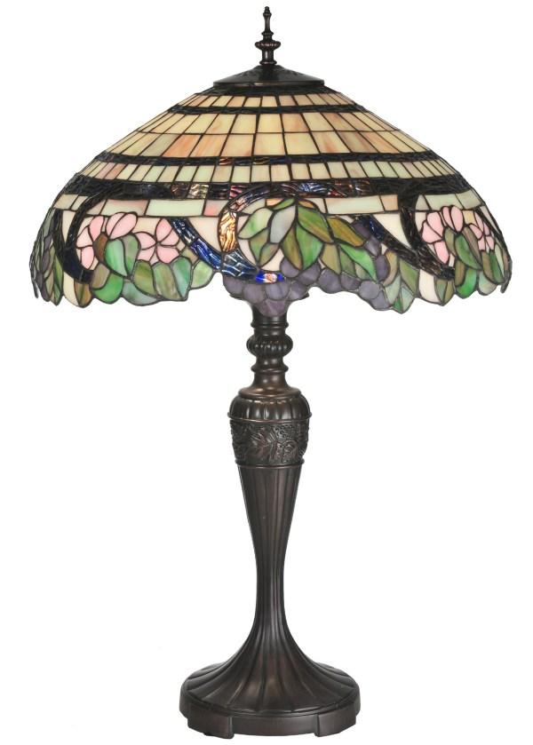 Meyda 99725 Tiffany Handel Grapevine Table Lamp