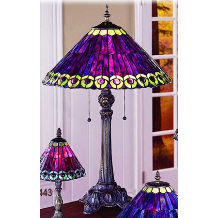 kitchen island with seating easy backsplash paul sahlin tiffany 672 peacock table lamp
