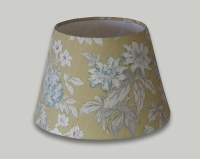 Campagna Ochre Yellow Blue Floral Empire Lampshade - THE ...