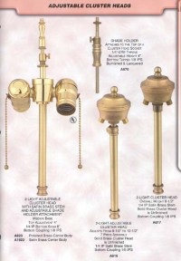 Floor Lamp & Bridge Lamp Components