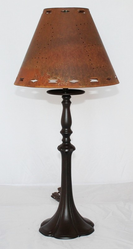 Bronze Patina Rust Lamp  Shade  Lamp Shade Pro