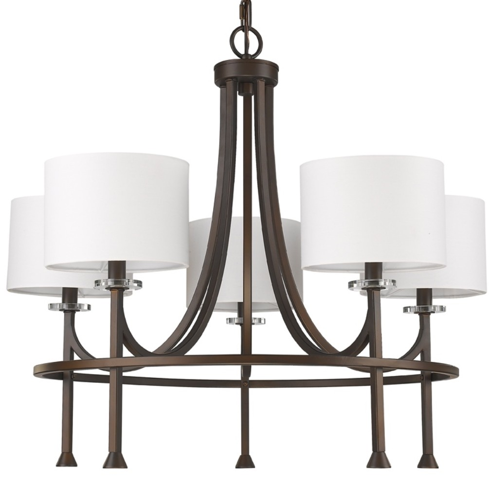 Home Wiring Colors Brown Shades Kara Oil Rubbed Bronze Chandelier Drum Shades 28 Quot Wx24 Quot H