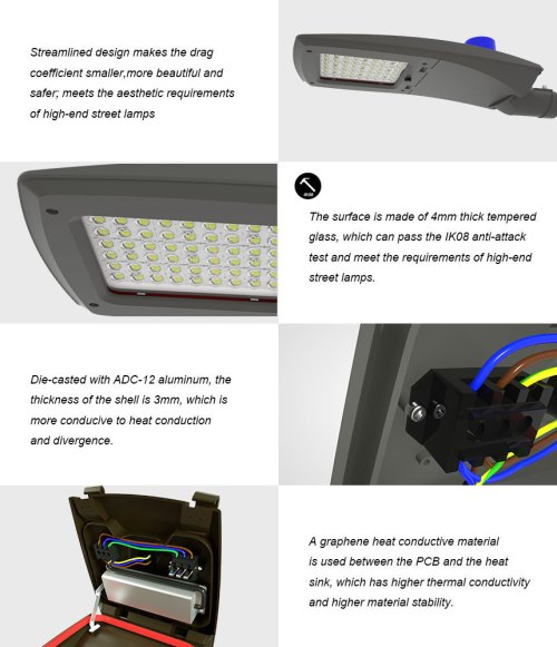 small resolution of 120w led street light specification