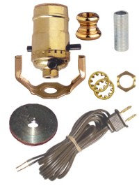Oil Lamp Kit - Unassembled: Lamp Shop