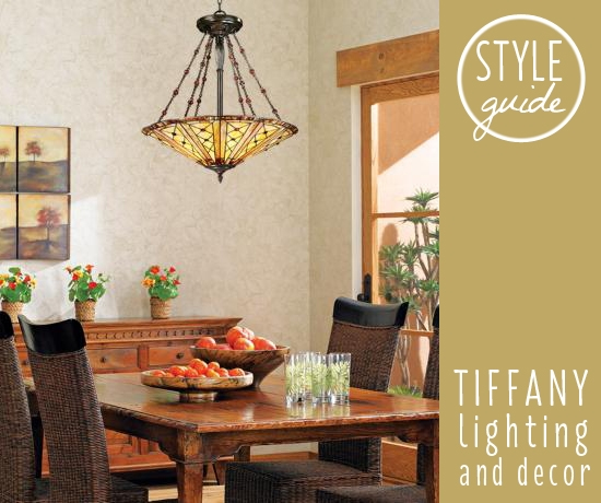 Style Guide Tiffany Lighting and Decor  Ideas  Advice