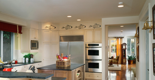 lighting for kitchen linen curtains recessed layout and planning ideas advice