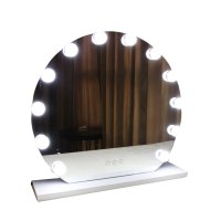 Professional Ring Makeup Mirror with Light Bulbs | Lampstars