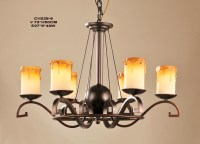 Outlet 6-Light Faux Candle Antique Chandeliers at Discount ...