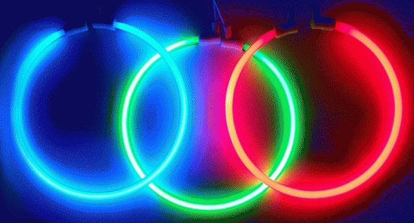 lampu fleksibel neon