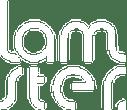 Logo Lamster- blanc