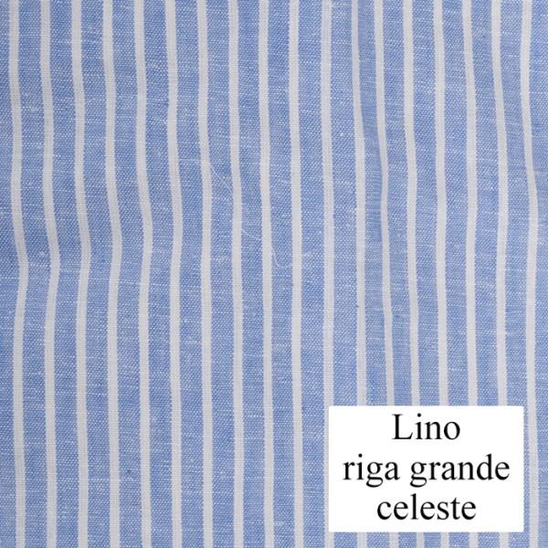 Lino riga grande celeste