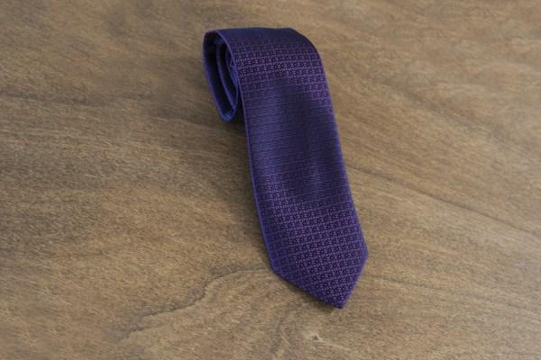 Cravatta fantasia fondo bordeaux mod. 117