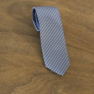 Cravatta fantasia fondo grigio chiaro mod. 128
