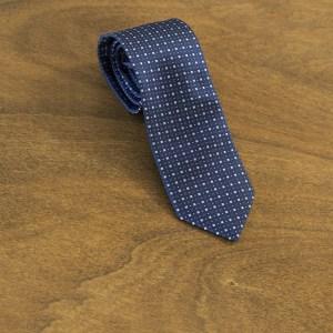 Cravatta fantasia fondo blu mod. 151