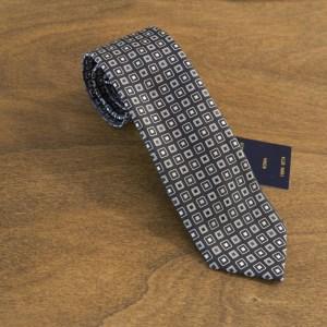 Cravatta fantasia fondo nero mod. 196