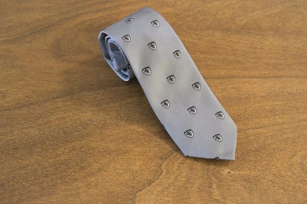 Cravatta fantasia fondo giallo mod. 205