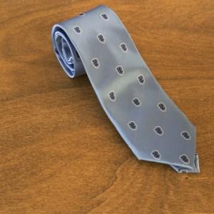 Cravatta fantasia fondo celeste mod. 208