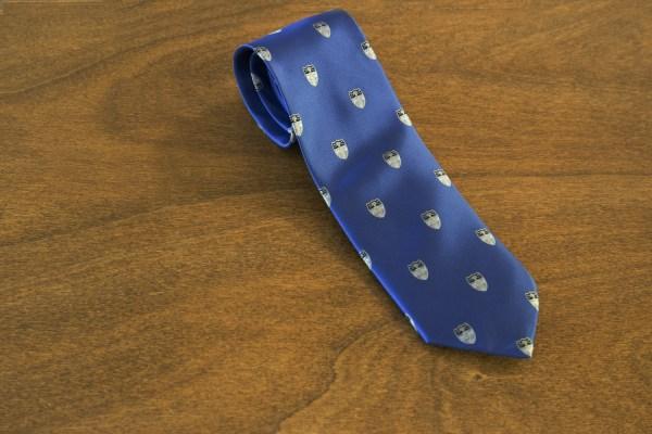 Cravatta fantasia fondo azzurro mod. 211