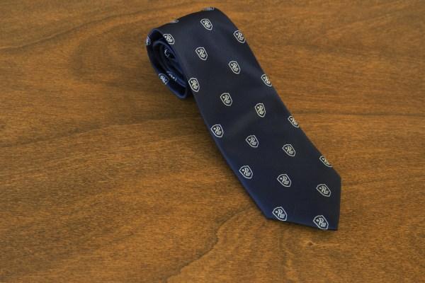 Cravatta fantasia fondo blu mod. 214