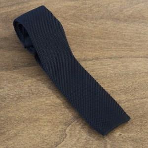 Cravatta in maglina fondo nero mod. 297