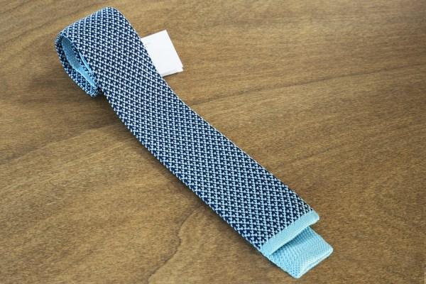 Cravatta in maglina fantasia fondo verde mod. 304