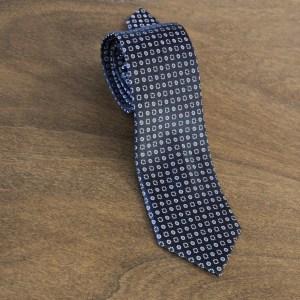 Cravatta fantasia fondo nero mod. 058