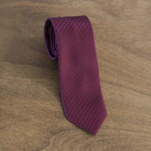Cravatta fantasia fondo bordeaux mod. 071