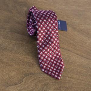 Cravatta fantasia fondo rosso mod. 080