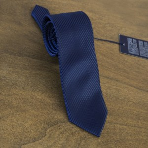 Cravatta tinta unita fondo blu mod. 087