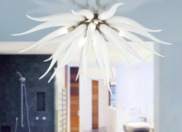 Multiforme è in grado di progettare e realizzare lampadari moderni su misura per ogni progetto o richiesta. La Murrina Shop Online Lampadari In Vetro Di Murano