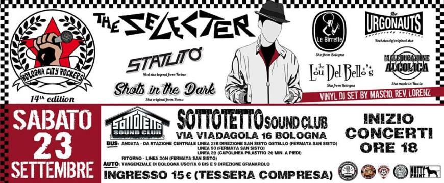 Selecter a Bologna - Bologna City Rockers