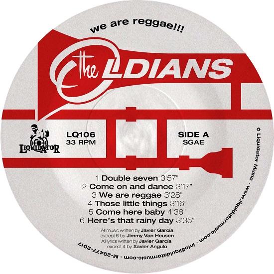 """Il lato A di """"We Are Reggae"""" dei The Oldians"""