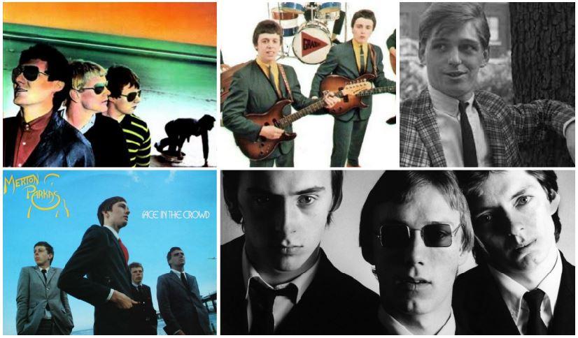 Alcuni artisti legati alla scena mod che hanno suonato ska