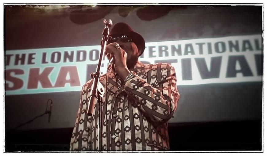 Derrick Morgan, protagonista del London International Ska Festival