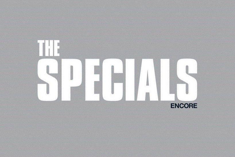 Copertina di Encore, album degli Specials uscito nel 2019