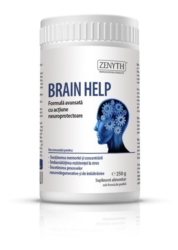 Brain Help за добра памет, концентрация и защита на мозъка.