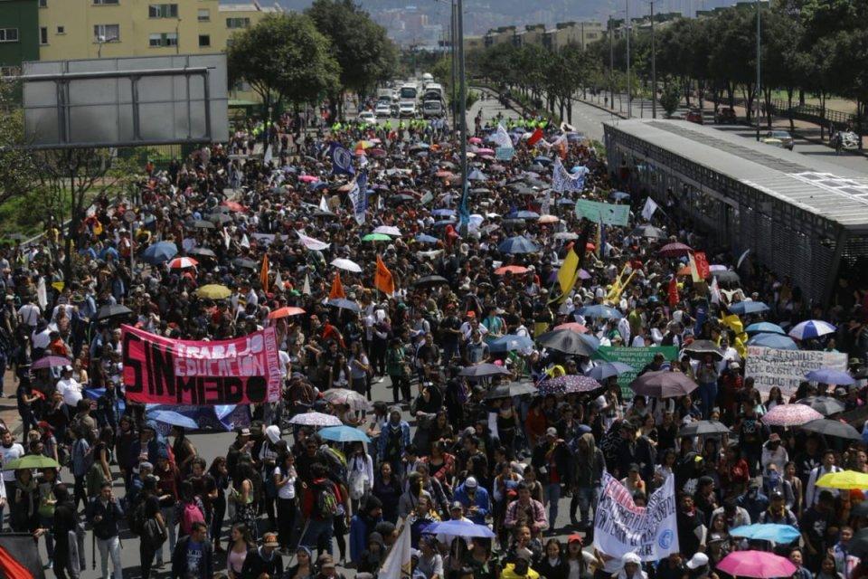 Imágenes de las marchas que se realizaron en todo el país 1 19 enero, 2020