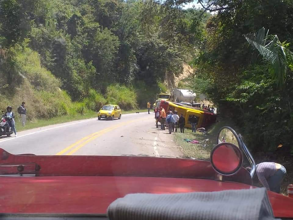 Un muerto deja accidente en el Tolima 6 13 julio, 2020