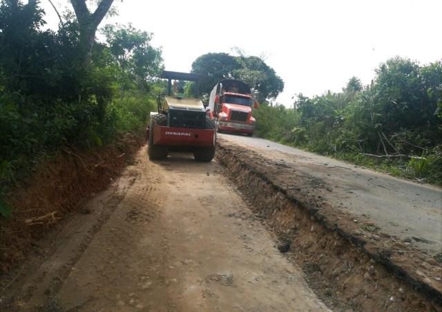 Inician obras en vía a Cartagena del Chairá, Caquetá 6 13 julio, 2020