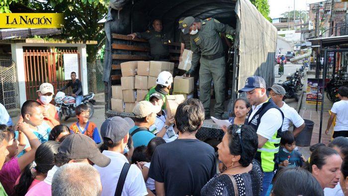¿Quién se quedó con la ayuda humanitaria en Villavieja? 1 16 febrero, 2020
