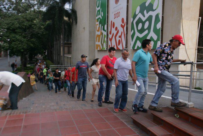 ¿Por qué los contribuyentes siguen haciendo fila en la Gobernación? 1 16 febrero, 2020