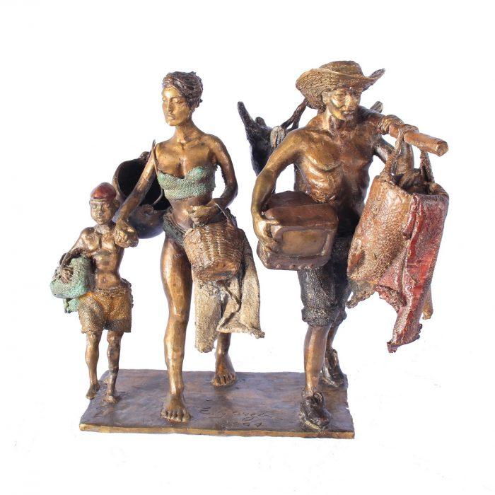 Antes de morir quiero hacerle una escultura a Juan Manuel Santos: Emiro Garzón 2 10 abril, 2020