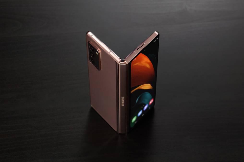 El usuario de Galaxy Z Fold2 puede acceder al Galaxy Z Premier Service: con asistencia de conserjería a pedido de un equipo dedicado de expertos en productos. Foto: Gentileza.