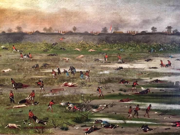 Paraguay fue el país más perjudicado en está contienda. Foto: Gentileza.
