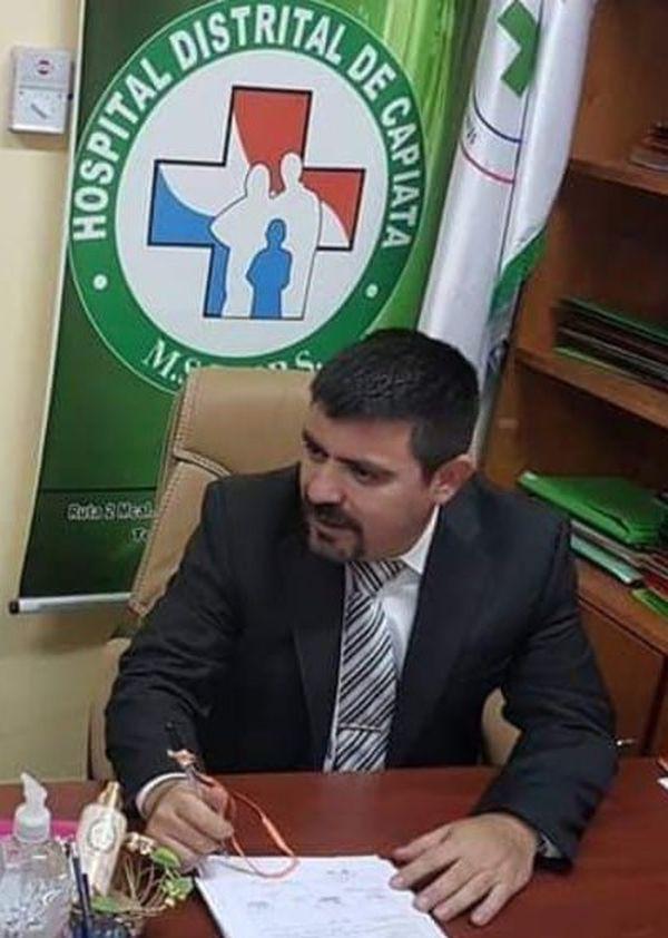Gabriel Aguilera, director del Materno Infantil de Capiatá.