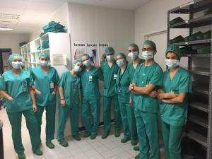 Hospital Santiago - Lanaldi Eguna (2018 Abendua)