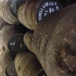 Casks at Springburn Distillery | Lana Pattinson